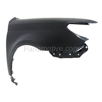 Aftermarket Replacement - FDR-1094R 2011-2012 Toyota Avalon (Base, Limited, XLS) Sedan 4-Door (3.5 Liter V6 Engine) Front Fender Quarter Panel Right Passenger Side - Image 2