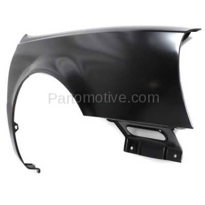 Aftermarket Replacement - FDR-1206R 2000-2005 Cadillac DeVille (Cab & Chassis or Limousine & Sedan 4-Door) (FWD) Front Fender Quarter Panel Primed Right Passenger Side - Image 2