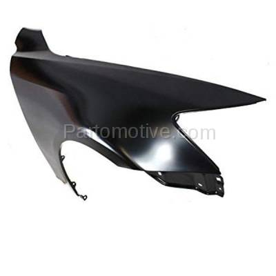Aftermarket Replacement - FDR-1445R 2007-2011 Lexus LS460 & 2008-2010 LS600h (4.6L & 5.0L V8) Sedan 4-Door Front Fender Quarter Panel Primed Steel Right Passenger Side - Image 2