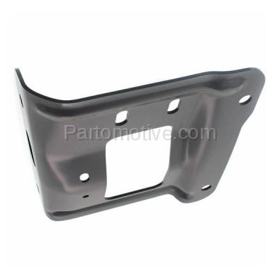 Aftermarket Replacement - BBK-1155L 2011-2016 Ford F250/F350/F450/F550 Super Duty Pickup Truck Front Bumper Face Bar Retainer Mounting Plate Bracket Left Driver Side - Image 3