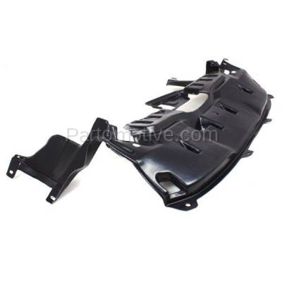 Aftermarket Replacement - ESS-1261 02-04 CRV Front Engine Splash Shield Under Cover Undercar HO1228114 74111S9A000 - Image 2