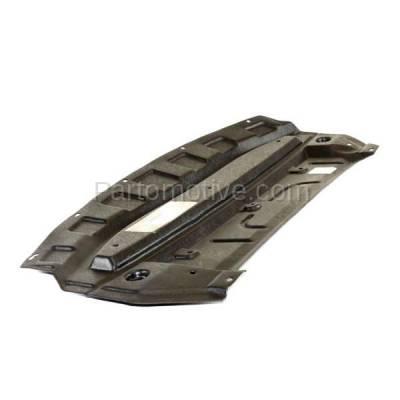 Aftermarket Replacement - ESS-1522 Front Engine Splash Shield Under Cover For 07-12 Sentra 2.0 NI1228109 75892ET000 - Image 3
