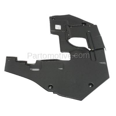 Aftermarket Replacement - ESS-1119 07-12 MKZ Engine Splash Shield Under Cover Rear Undercar FO1228111 7H6Z5410494A - Image 2