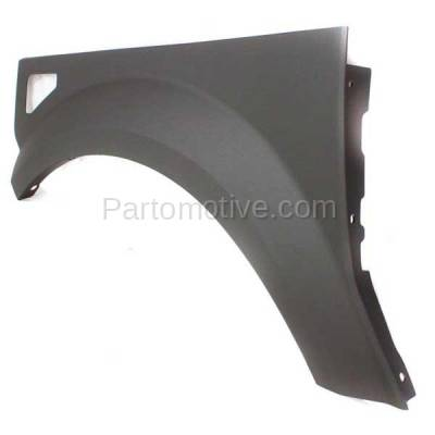 Aftermarket Replacement - FDR-1244L 2003-2005 Honda Element EX (2.4 Liter Engine) Front Fender Quarter Panel Cladding Plastic Textured Gray Left Driver Side - Image 2
