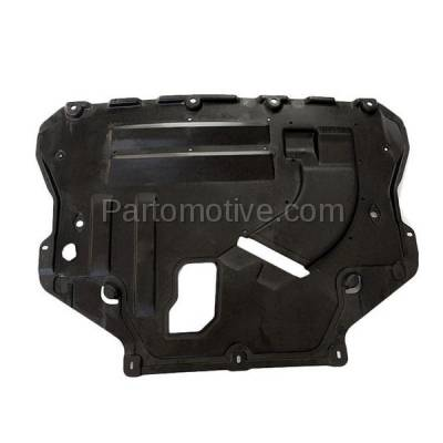 Aftermarket Replacement - ESS-1134 2013-2019 Ford Escape & Lincoln MKC (1.5 & 1.6 & 2.0 & 2.3 & 2.5 Liter Engine) Front Engine Under Cover Splash Shield Undercar Guard Plastic - Image 2