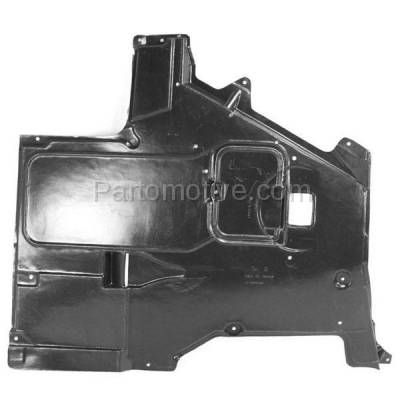 Aftermarket Replacement - ESS-1066 97-03 5-Series Center Engine Splash Shield Floor Under Cover w/Auto Transmission - Image 1