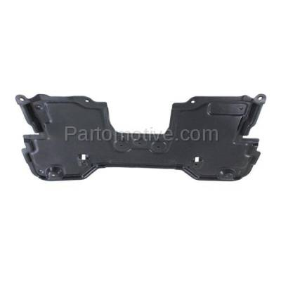 Aftermarket Replacement - ESS-1324 2011-2013 Infiniti M35h/M37/M56 & 2014-2018 Q50/Q60/Q70/Q70L (RWD) Front Engine Under Cover Splash Shield Undercar Guard Plastic - Image 3
