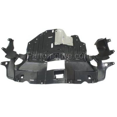 Aftermarket Replacement - ESS-1244 12-14 CRV Front Engine Splash Shield Under Cover Undercar HO1228137 74110T0GA00 - Image 1