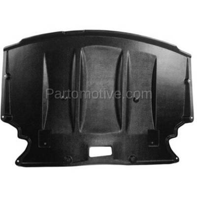 Aftermarket Replacement - ESS-1086 NEW 04-07 5-Series Engine Splash Shield Under Cover Center BM1228124 51717033761 - Image 1