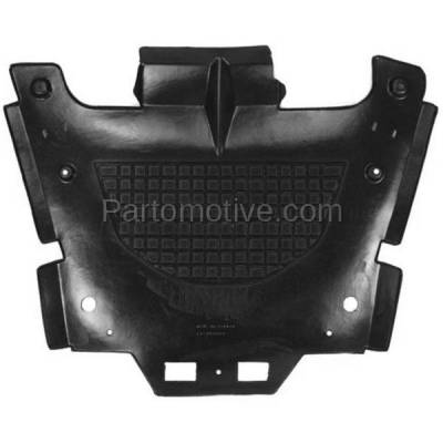 Aftermarket Replacement - ESS-1200 08-14 CTS RWD Front Engine Splash Shield Under Cover Undercar GM1228135 15849031 - Image 1