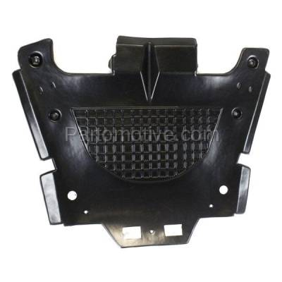 Aftermarket Replacement - ESS-1200 08-14 CTS RWD Front Engine Splash Shield Under Cover Undercar GM1228135 15849031 - Image 2