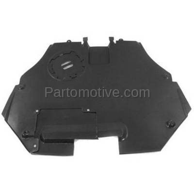Aftermarket Replacement - ESS-1153 06-09 Fusion/Milan Front Engine Splash Shield Under Cover FO1228110 6E5Z5410494A - Image 1