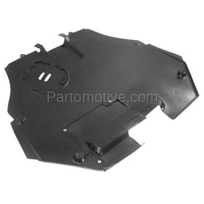 Aftermarket Replacement - ESS-1153 06-09 Fusion/Milan Front Engine Splash Shield Under Cover FO1228110 6E5Z5410494A - Image 2