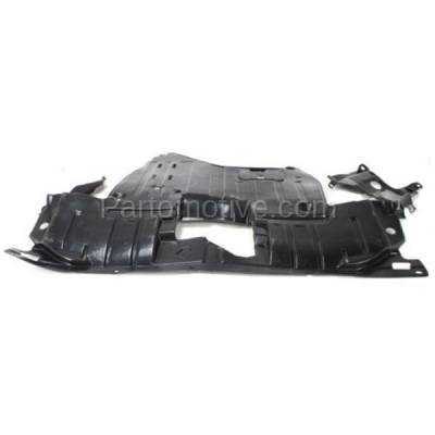 Aftermarket Replacement - ESS-1009 2004-04 Acura TSX 2.4L Engine Splash Shield Under Cover Undercar AC1228101 74111SEAE02 - Image 1
