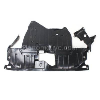 Aftermarket Replacement - ESS-1009 2004-04 Acura TSX 2.4L Engine Splash Shield Under Cover Undercar AC1228101 74111SEAE02 - Image 2