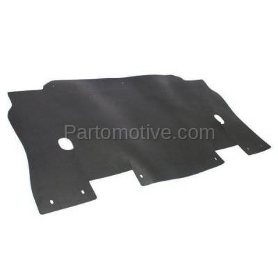 Aftermarket Replacement - ESS-1117 05-08 F150 Pickup Truck Engine Splash Shield Under Cover/Radiator Air Deflector - Image 2