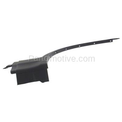 Aftermarket Replacement - FDF-1006R 07-10 X3 Front Fender Flare Wheel Opening Molding Trim Arch Right Passenger Side - Image 2