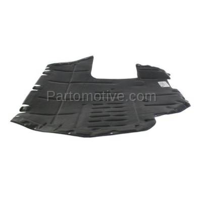 Aftermarket Replacement - ESS-1662 VW Golf, Jetta Engine Splash Shield Under Cover Diesel Automatic Trans VW1228107 - Image 1
