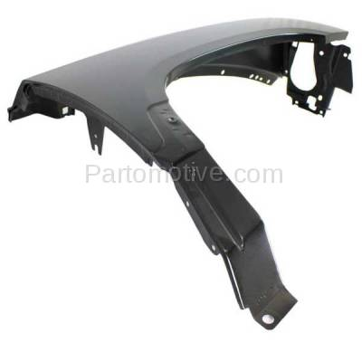 Aftermarket Replacement - FDR-1200R 2005-2007 Dodge Dakota Pickup Truck (V6/V8) Front Fender Quarter Panel (with Antenna Hole) Primed Steel Right Passenger Side - Image 2