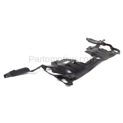 Aftermarket Replacement - ESS-1258 08-12 Accord V6 Front Engine Splash Shield Under Cover Undercar Guard HO1228123 - Image 2