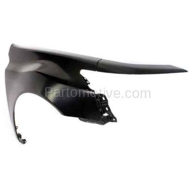 Aftermarket Replacement - FDR-1762R 2009-2014 Acura TL (Base & SH-AWD) 3.5L & 3.7L (USA Built Models) Front Fender Quarter Panel Primed Steel Right Passenger Side - Image 2