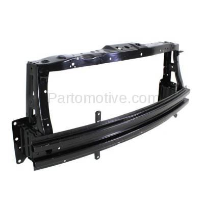 Aftermarket Replacement - RSP-1316 2013-2015 Chevrolet Spark (LS, LT) Hatchback 4-Door (1.2 Liter Engine) (without EV) Front Radiator Support Core Assembly Primed Steel - Image 2