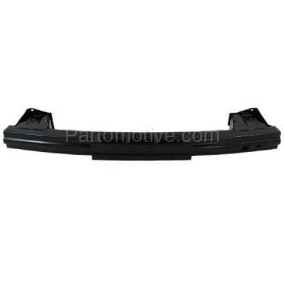 Aftermarket Replacement - BRF-1416R 2009-2014 Honda FIT (Hatchback 4-Door) Rear Bumper Impact Face Bar Crossmember Reinforcement Beam Primed Made of Steel - Image 1