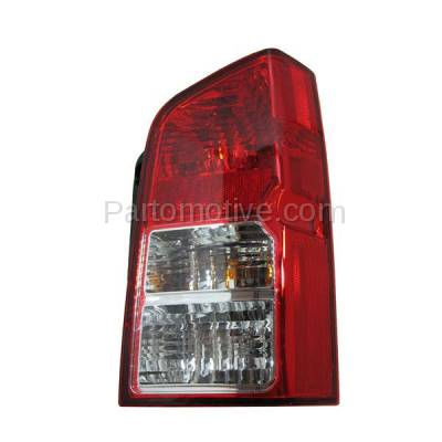 Aftermarket Auto Parts - TLT-1207RC CAPA 05-12 Pathfinder Taillight Taillamp Rear Brake Light Lamp Passenger Side - Image 1
