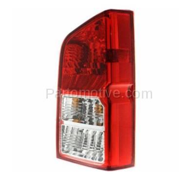 Aftermarket Auto Parts - TLT-1207RC CAPA 05-12 Pathfinder Taillight Taillamp Rear Brake Light Lamp Passenger Side - Image 2