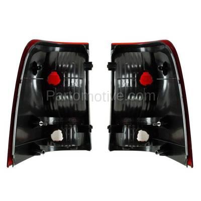 Aftermarket Auto Parts - TLT-1008LC & TLT-1008RC CAPA 02-05 Explorer 4DR Taillight Taillamp Brake Light Lamp Left Right Set PAIR - Image 3