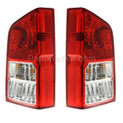 Aftermarket Auto Parts - TLT-1207LC & TLT-1207RC CAPA 05-12 Pathfinder Taillight Taillamp Brake Light Outer Lamp Right & Left Set - Image 2