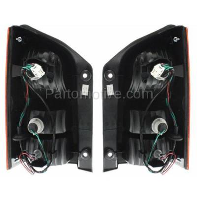 Aftermarket Auto Parts - TLT-1207LC & TLT-1207RC CAPA 05-12 Pathfinder Taillight Taillamp Brake Light Outer Lamp Right & Left Set - Image 3