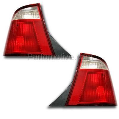 Aftermarket Auto Parts - TLT-1210LC & TLT-1210RC CAPA 05-07 Focus Sedan Taillight Taillamp Brake Light Lamp Left & Right Set PAIR - Image 2