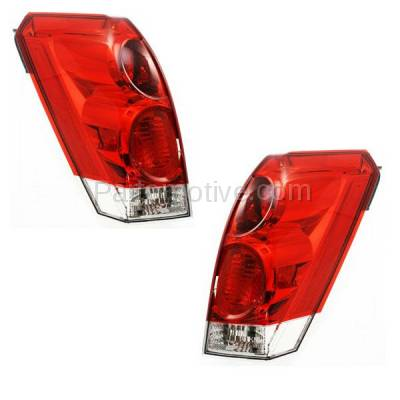 Aftermarket Auto Parts - TLT-1212LC & TLT-1212RC CAPA 07-09 Quest Taillight Taillamp Rear Brake Light Lamp Right & Left Set PAIR - Image 2