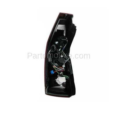 Aftermarket Auto Parts - TLT-1213RC CAPA 04-07 Cadillac CTS Taillight Taillamp Rear Brake Light Lamp Passenger Side - Image 3