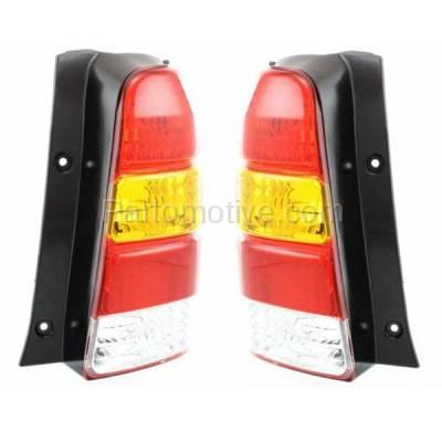 Aftermarket Auto Parts - TLT-1019LC & TLT-1019RC CAPA 01-07 Escape Taillight Taillamp Rear Brake Light Lamp Left & Right Set PAIR - Image 2