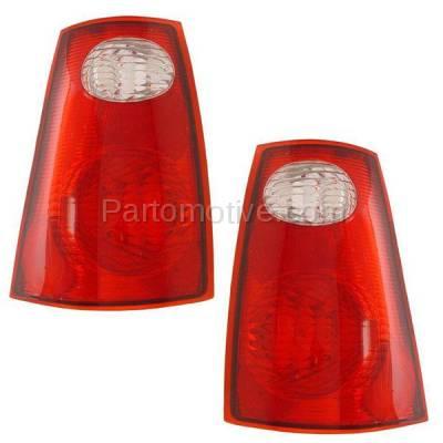 Aftermarket Auto Parts - TLT-1049LC & TLT-1049RC CAPA Pair 01-05 Explorer Sport Trac Taillight Taillamp Light Lamp Left Right Set - Image 1