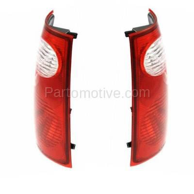 Aftermarket Auto Parts - TLT-1049LC & TLT-1049RC CAPA Pair 01-05 Explorer Sport Trac Taillight Taillamp Light Lamp Left Right Set - Image 2
