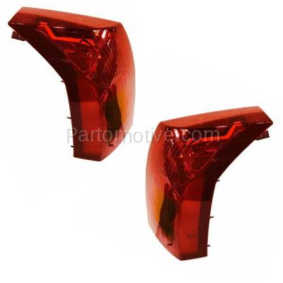 Aftermarket Auto Parts - TLT-1213LC & TLT-1213RC CAPA 04-07 Cadillac CTS Taillight Taillamp Brake Light Lamp Left Right Set PAIR - Image 2