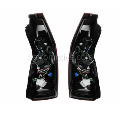 Aftermarket Auto Parts - TLT-1213LC & TLT-1213RC CAPA 04-07 Cadillac CTS Taillight Taillamp Brake Light Lamp Left Right Set PAIR - Image 3