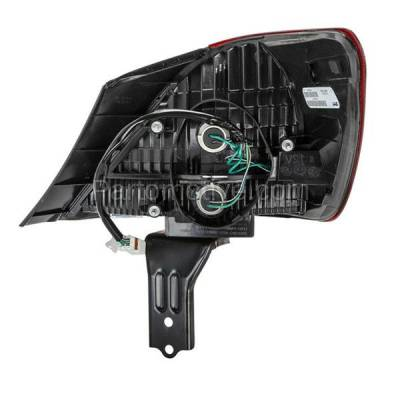 Aftermarket Auto Parts - TLT-1284LC CAPA 05-07 Avalon Taillight Taillamp Rear Brake Outer Light Lamp Driver Side LH - Image 3