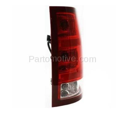 Aftermarket Auto Parts - TLT-1312RC CAPA 07-10 Sierra Truck Taillight Taillamp Rear Brake Light Lamp Passenger Side - Image 2