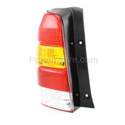 Aftermarket Auto Parts - TLT-1019LC CAPA 01-07 Ford Escape Taillight Taillamp Rear Brake Light Lamp Driver Side LH - Image 2