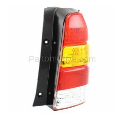 Aftermarket Auto Parts - TLT-1019RC CAPA 01-07 Ford Escape Taillight Taillamp Rear Brake Light Lamp Passenger Side - Image 2