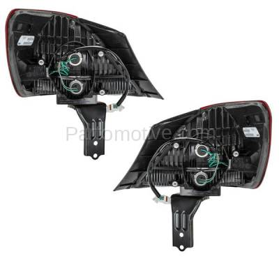 Aftermarket Auto Parts - TLT-1284LC & TLT-1284RC CAPA 05-07 Avalon Taillight Taillamp Brake Light Outer Lamp Left Right Set PAIR - Image 3