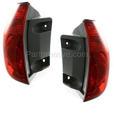 Aftermarket Auto Parts - TLT-1300LC & TLT-1300RC CAPA 06-10 Sienna Taillight Taillamp Brake Outer Light Lamp Left Right Set PAIR - Image 2