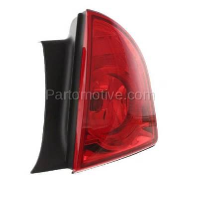 Aftermarket Auto Parts - TLT-1391RC CAPA 08-12 Malibu LS LT Hybrid Taillight Taillamp Light Lamp Passenger Side RH - Image 2