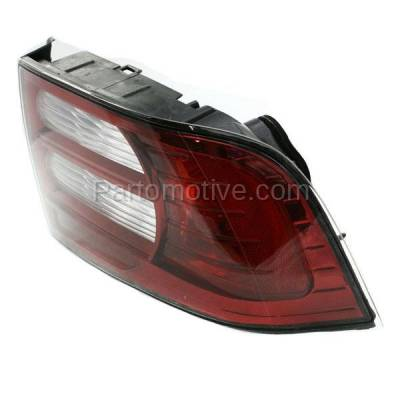 Aftermarket Auto Parts - TLT-1353RC CAPA 07-08 Acura TL Base Taillight Taillamp Brake Light Lamp Passenger Side RH - Image 2