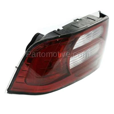 Aftermarket Auto Parts - TLT-1353LC CAPA 07-08 Acura TL Base Taillight Taillamp Rear Brake Light Lamp Driver Side LH - Image 2
