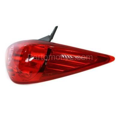 Aftermarket Auto Parts - TLT-1393RC CAPA 07-12 Versa Hatchback Taillight Taillamp Brake Light Lamp Passenger Side R - Image 2